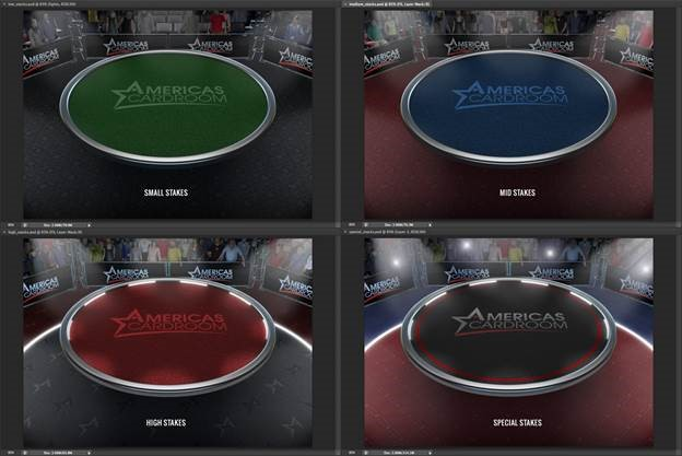 Americas Cardroom Final Table Graphics
