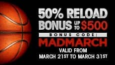 March Madness Reload Bonus