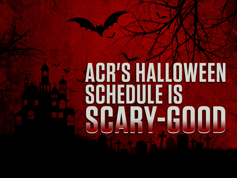 acrs halloween schedule is scary good