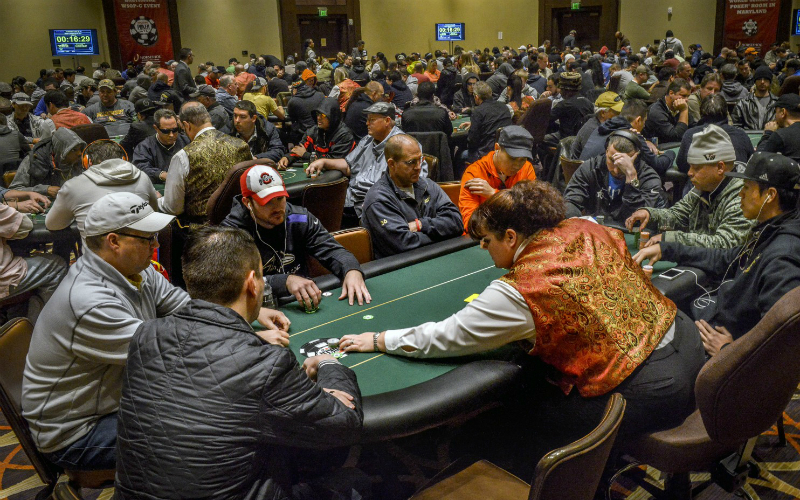 Maryland Poker Rooms Raked 1m More This January