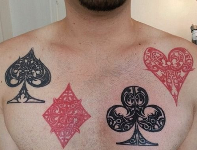These Gambling Tattoo Ideas Are Insane Americas Cardroom