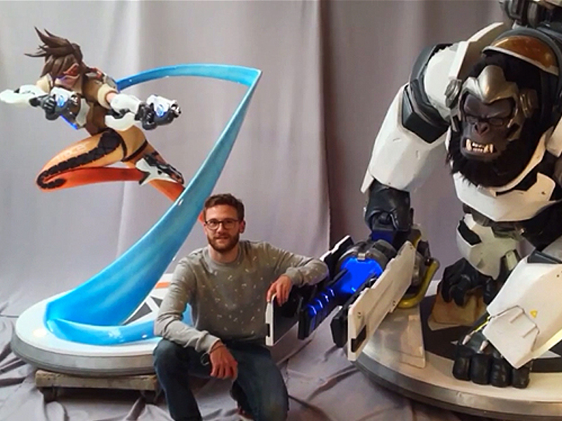 Overwatch Gets Ready For Launch With Larger Than Life