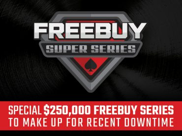 Special $250,000 Freebuy Series to make up for recent downtime