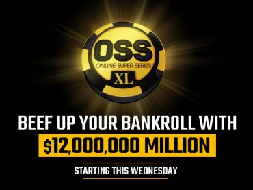 Beef up your bankroll with $12 Million OSS XL starting this Wednesday