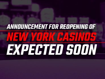Announcement for reopening of New York casinos expected soon