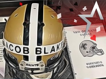 The New Orleans Saints show support for Jacob Blake