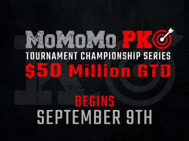 Our first-ever MO MO MO PKO Tourney Series begins September 9th
